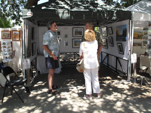 Art Under the Oaks, Cheshire Cat Photo booth