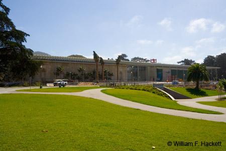 California Academy of Sciences under construction