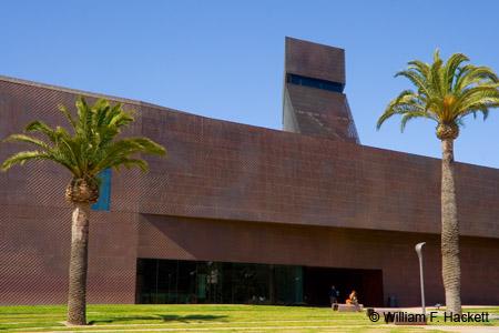 M.H. de Young Memorial Museum, Golden Gate Park, San Francisco, CA