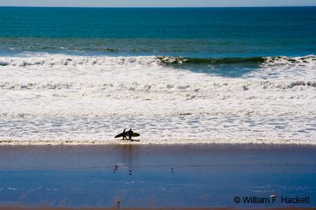 Surfer Couple, Manresa State Beach