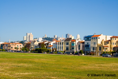 The Marina Green in San Francisco
