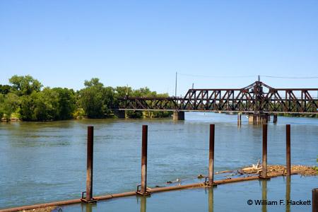 Sacramento River near Old Town Sacramento