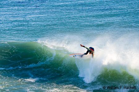 Surfing, Steamer Lane, Santa Cruz, California