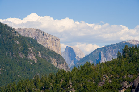 Yosemite Valley View from Big Oak Flat Road